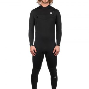 Billabong Furnace Abso 3/2 Chest Zip zwart