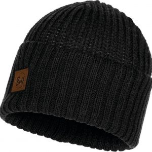 Buff Knitted Heren Muts - Graphite - One Size