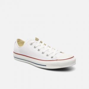 Converse Chuck Taylor All Star Leather Ox M Wit - Sneakers - Beschikbaar in 43