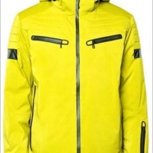 8848 - Hayride - wintersport jas - heren - lime - Maat L