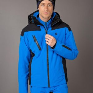 8848 - Long Drive - wintersp jas - heren - blue - maat S