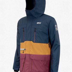 Picture - Pure Wintersportjas - Heren - Blue Camel - M
