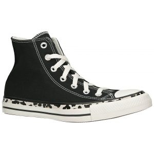Converse Chuck Taylor All Star Edged Archive Leop Sneakers zwart
