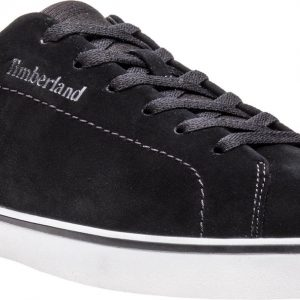 Timberland Skape Park Leather Lace Up Heren Sneakers - Jet Black - Maat 42