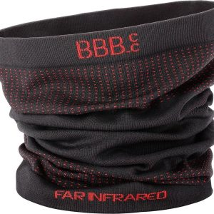 BBB Cycling BBW-492 scarf FIRNeck - Fietsmuts - Zwart/rood - One Size fits all
