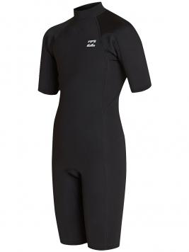 2/2 Abso Back Zip FL Wetsuit Boys zwart