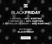DC Black friday tot 50% korting!