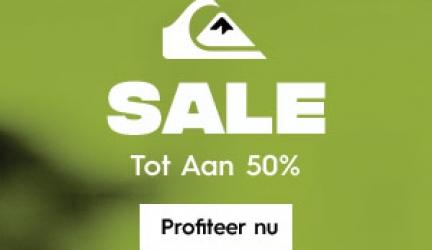 Quiksilver Flash Hoodie Sale tot 40% korting! -10% extra