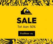 Quiksilver Winter Sale tot 50% korting! -10% extra