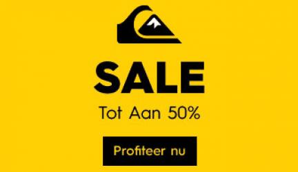 Quiksilver Zomer Sale tot 50% korting!