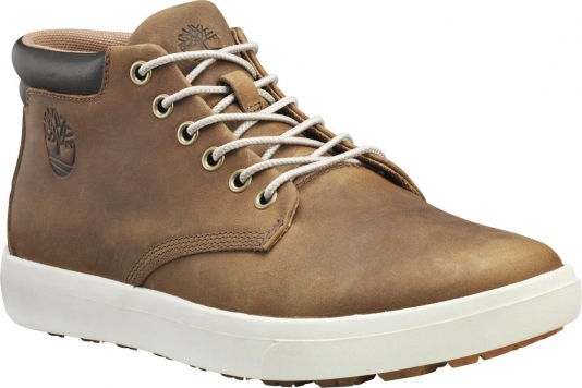 Timberland Ashwood Park Leather Chukka Heren Sneakers - Toasted Coconut - Maat 42