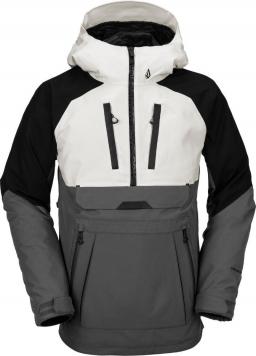 Volcom Brighton Pullover heren snowboard jas antraciet