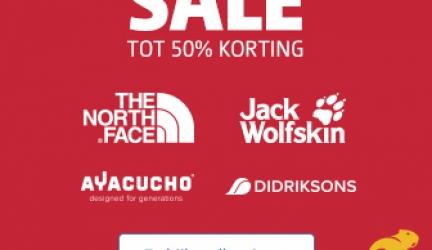 Bever sale tot 50%!