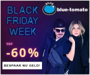 Blue Tomato Black Friday tot 60% korting!