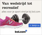 Vanaf 50% korting op sportartikelen bij Bol.com!